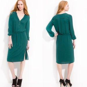 Studded Green BCBG Dress / Size:M